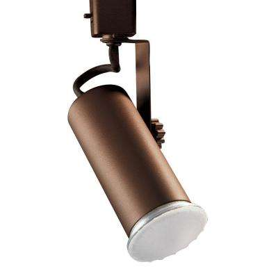 Universal Line-Voltage Oil-Rubbed Bronze Track Lighting Fixture