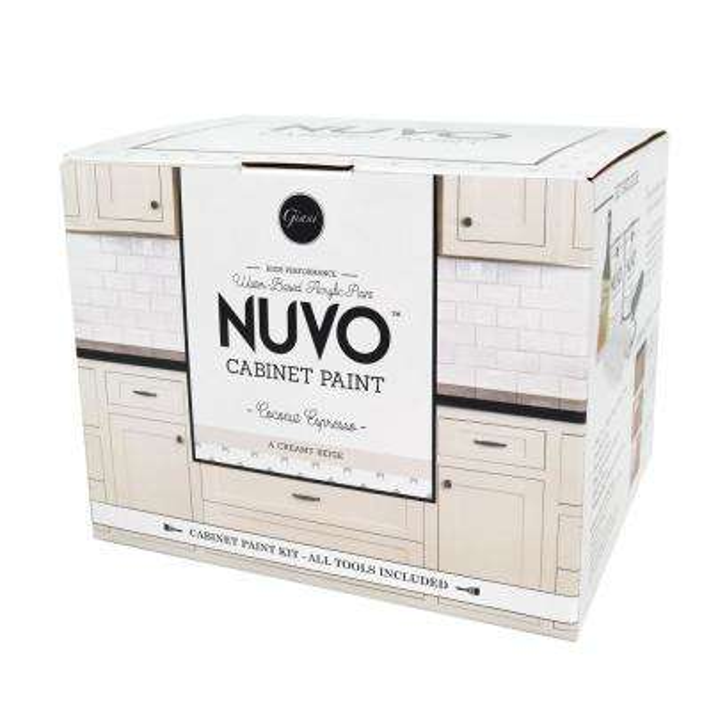 2 qt. Coconut Espresso Cabinet Paint Kit