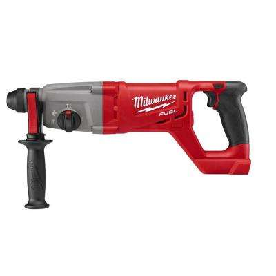 M18 FUEL 18-Volt Lithium-Ion Brushless Cordless  1 in. SDS-Plus D-Handle Rotary Hammer (Tool-Only)