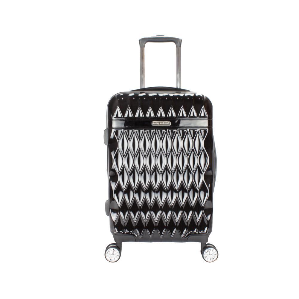Kelly 22 in. Black Hardside Spinner Luggage