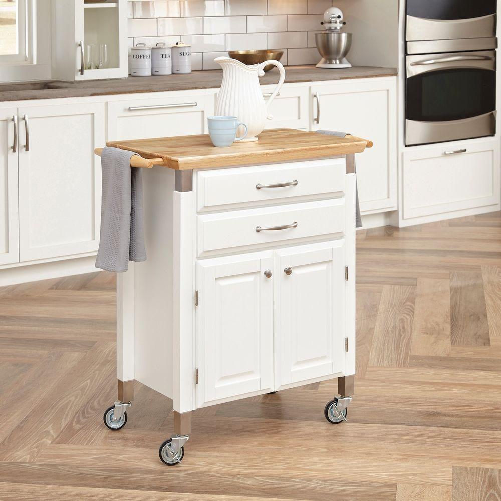 Homestyles Dolly Madison White Kitchen