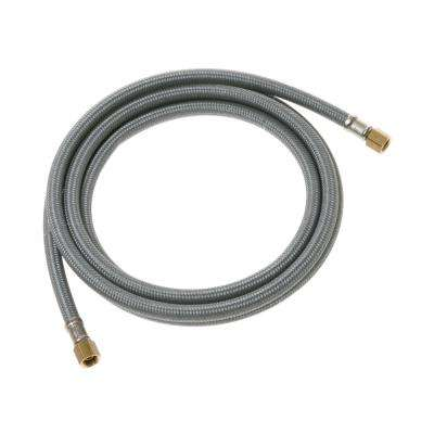 Universal 12 ft. Braided Ice Maker Water Supply Line