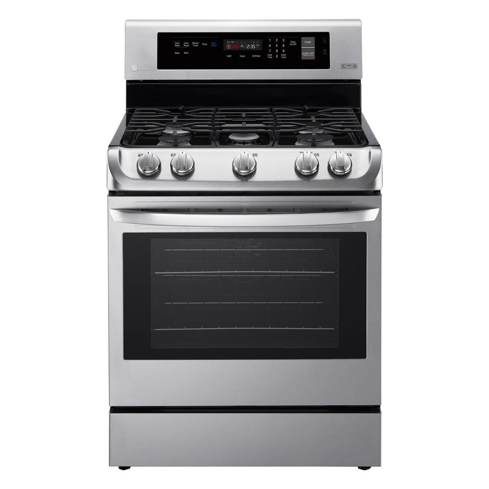 6.3 cu. ft. Gas Range with ProBake Convection Oven and EasyClean