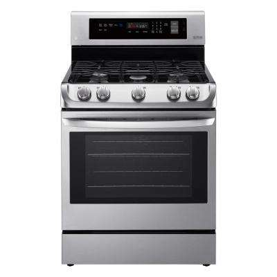 6.3 cu. ft. Gas Range with ProBake Convection Oven and EasyClean in Stainless Steel