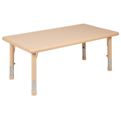 23.75 in. Natural Kids Table