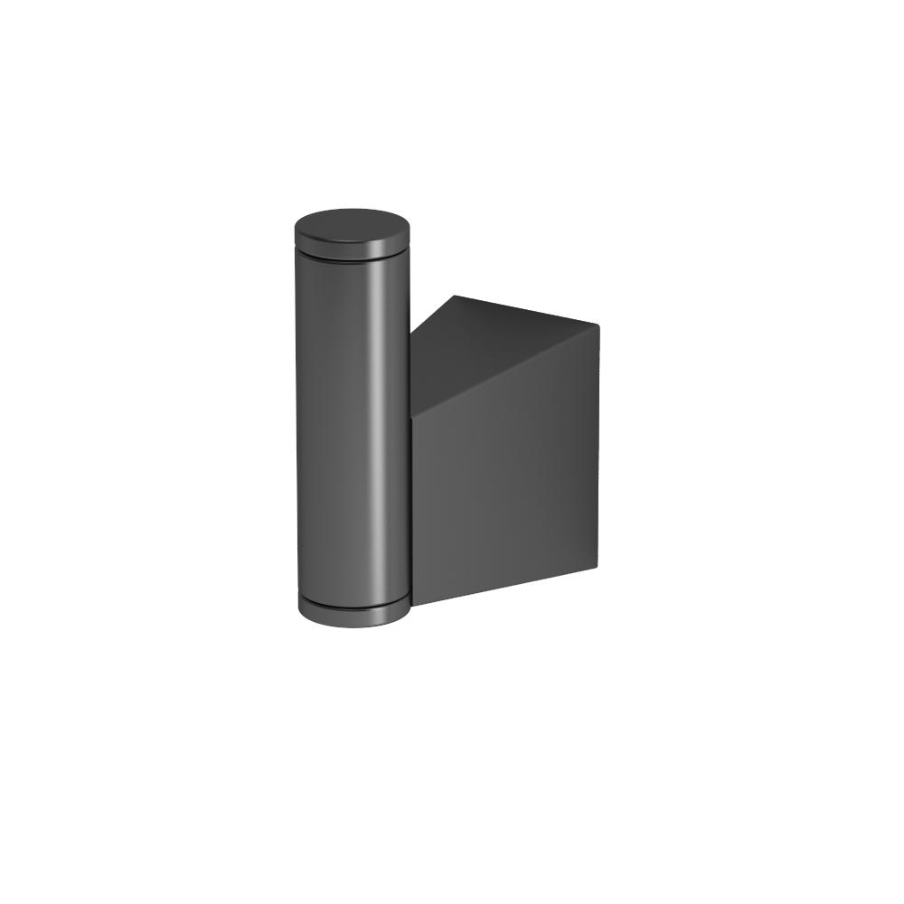 Gatco Bleu Single Robe Hook in Matte Black