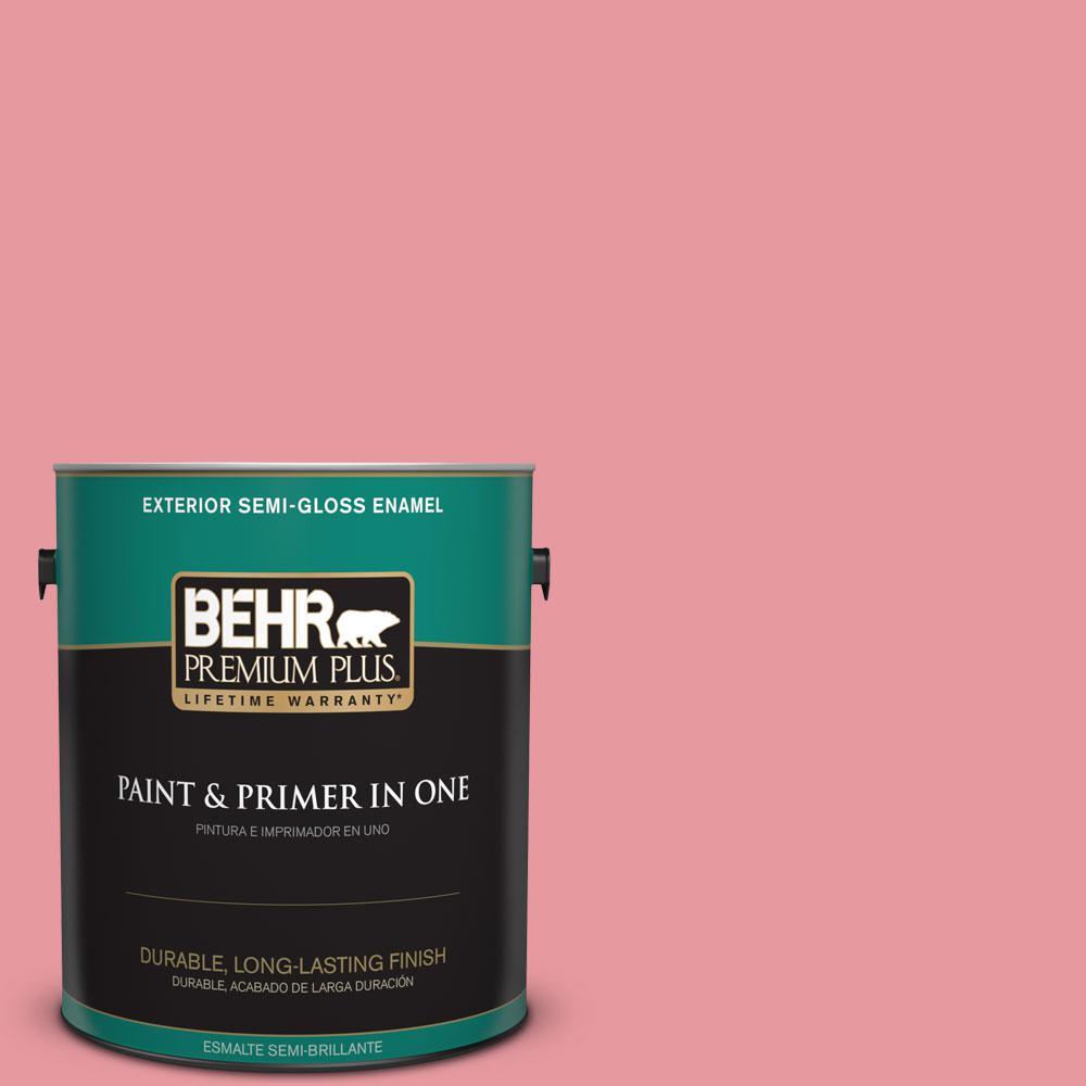 BEHR Premium Plus 1-gal. #P160-3 All Dressed Up Semi-Gloss Enamel Exterior Paint