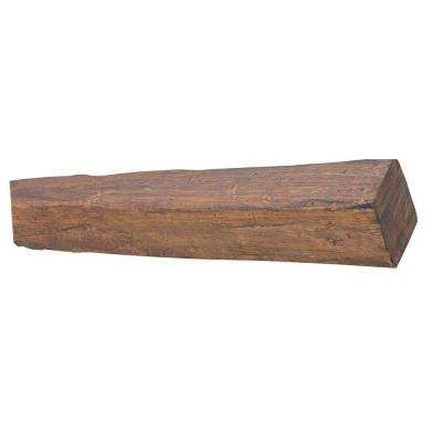 8 in. x 9 7/8 in. x 18 ft. 9 in. Faux Wood Beam