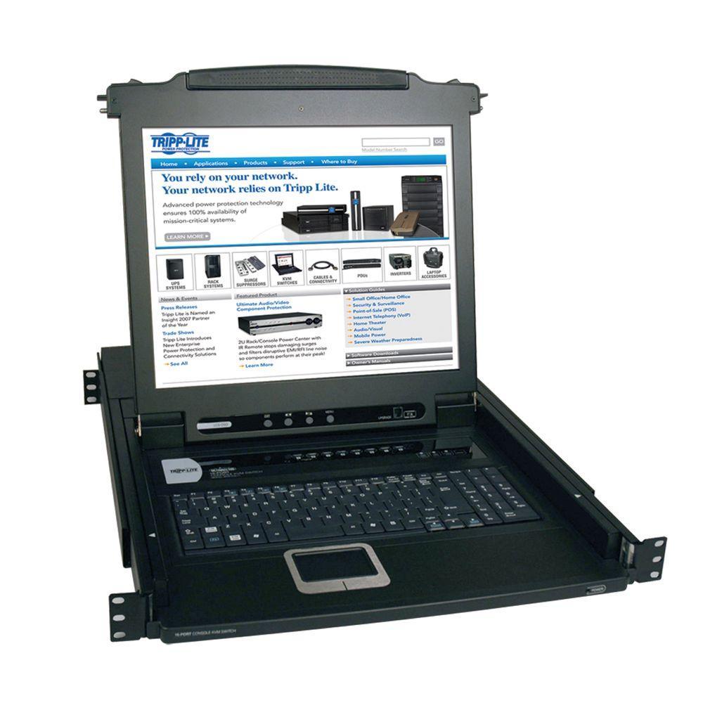 Tripp Lite Netdirector Ps 2 To Hd15 Server Port Rack Mount