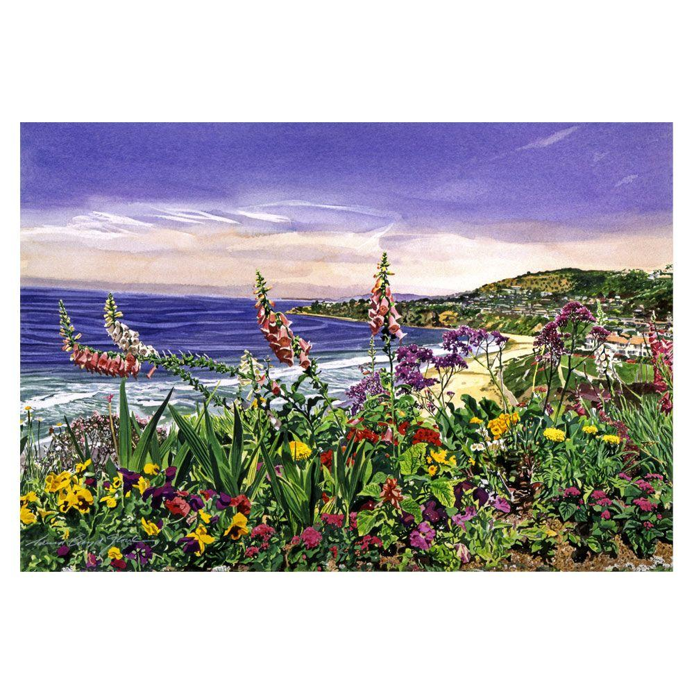 22 in. x 32 in. Laguna Niguel Garden Canvas Art