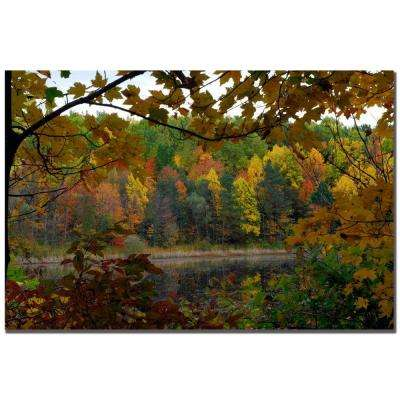 24 in. x 16 in. Full Color Fall Canvas Art