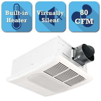 Radiance Series 80 CFM Ceiling Bathroom Exhaust Fan ...