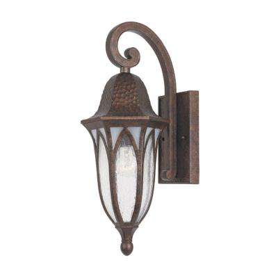 Charleston Burnished Antique Copper Outdoor Wall-Mount Lantern