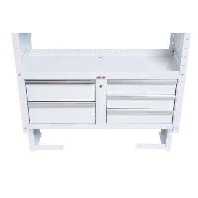 42 in. 5-Drawer Secure Storage Modules