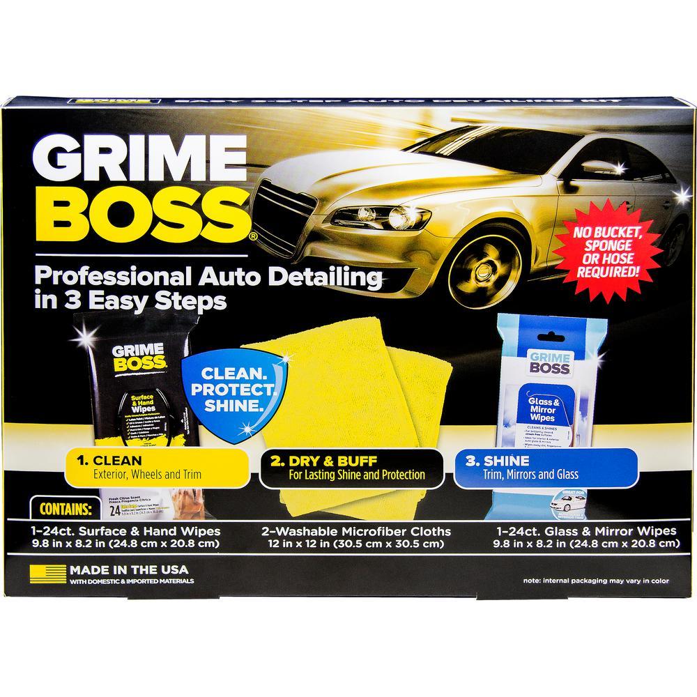 Grime Boss Auto Detail Kit