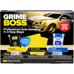 Professional Car Detailing Supplies >> Grime Boss Auto Detail Kit G003kit The Home Depot