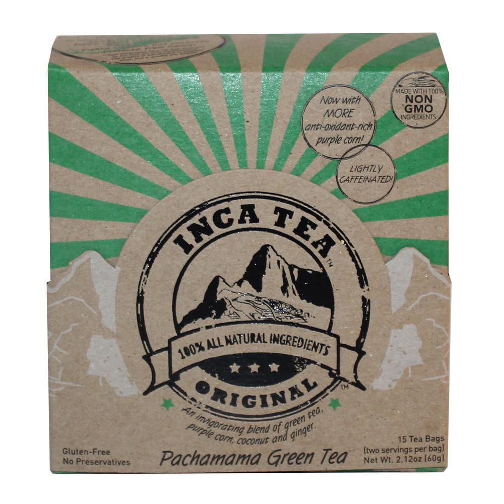 Pachamoma Green Tea (6-Boxes of 15-Bags)