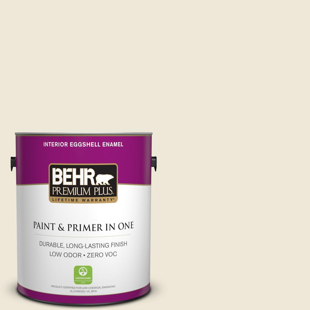 BEHR Premium Plus 1-gal. #S320-1 Farm House Eggshell Enamel Interior Paint
