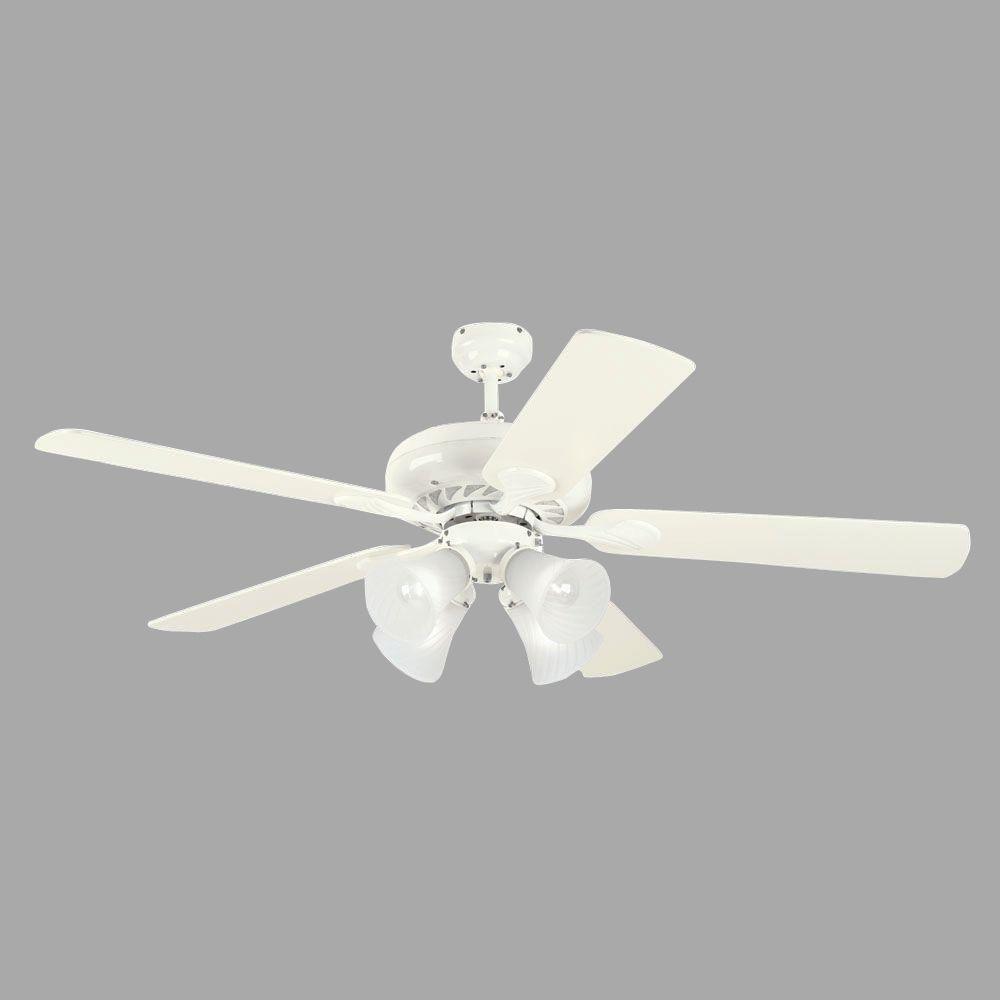 Westinghouse Swirl 52 in. White Indoor Ceiling Fan