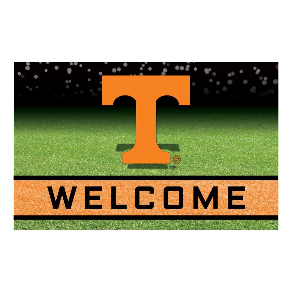 University of Tennessee 18 in. x 30 in. Rubber Door Mat