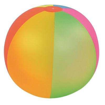 39 in. Classic Inflatable 6-Panel Jumbo Beach Ball