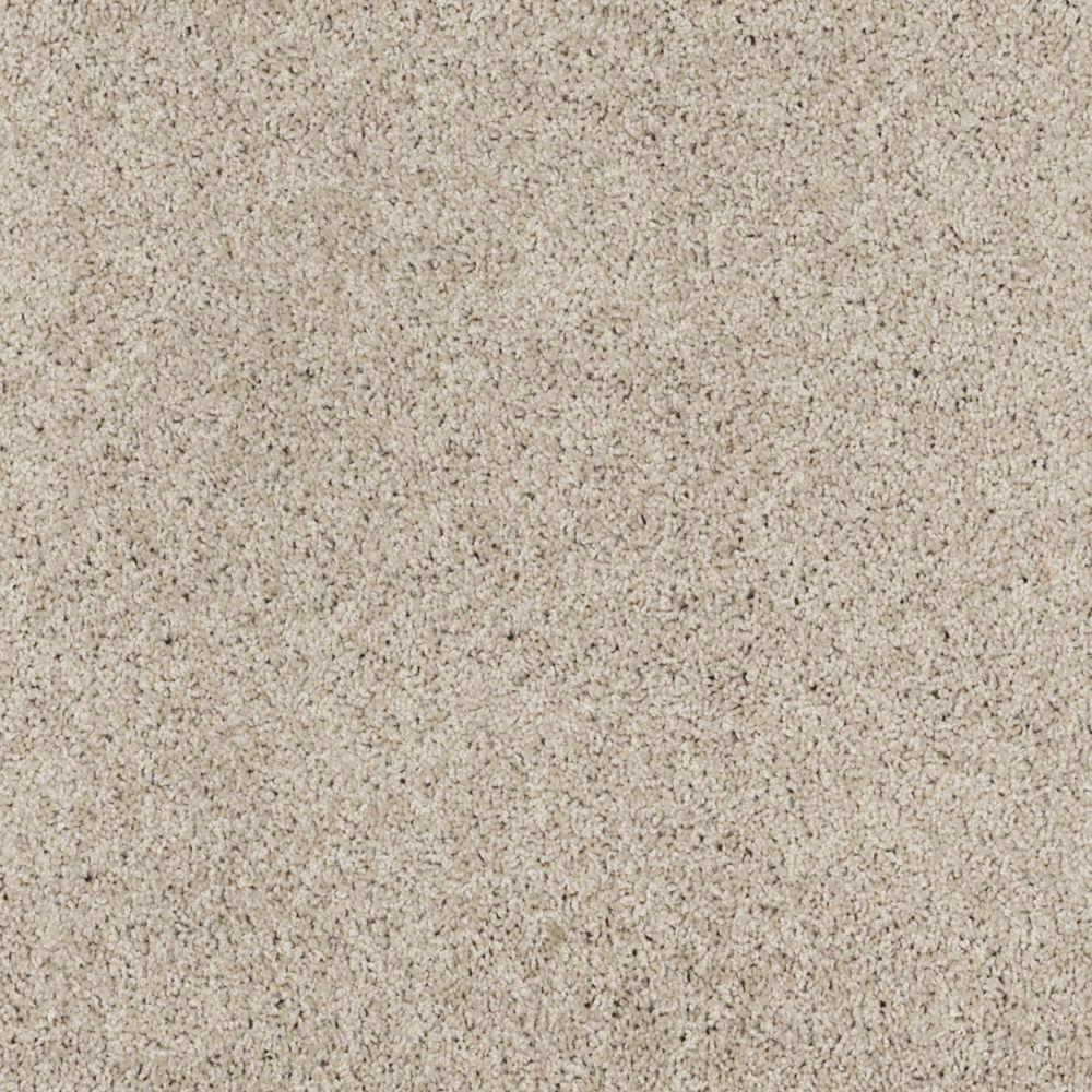 Martha Stewart Living Port Stanwick I - Color Potter's Clay 6 in. x 9 in. Take Home Carpet Sample-DISCONTINUED