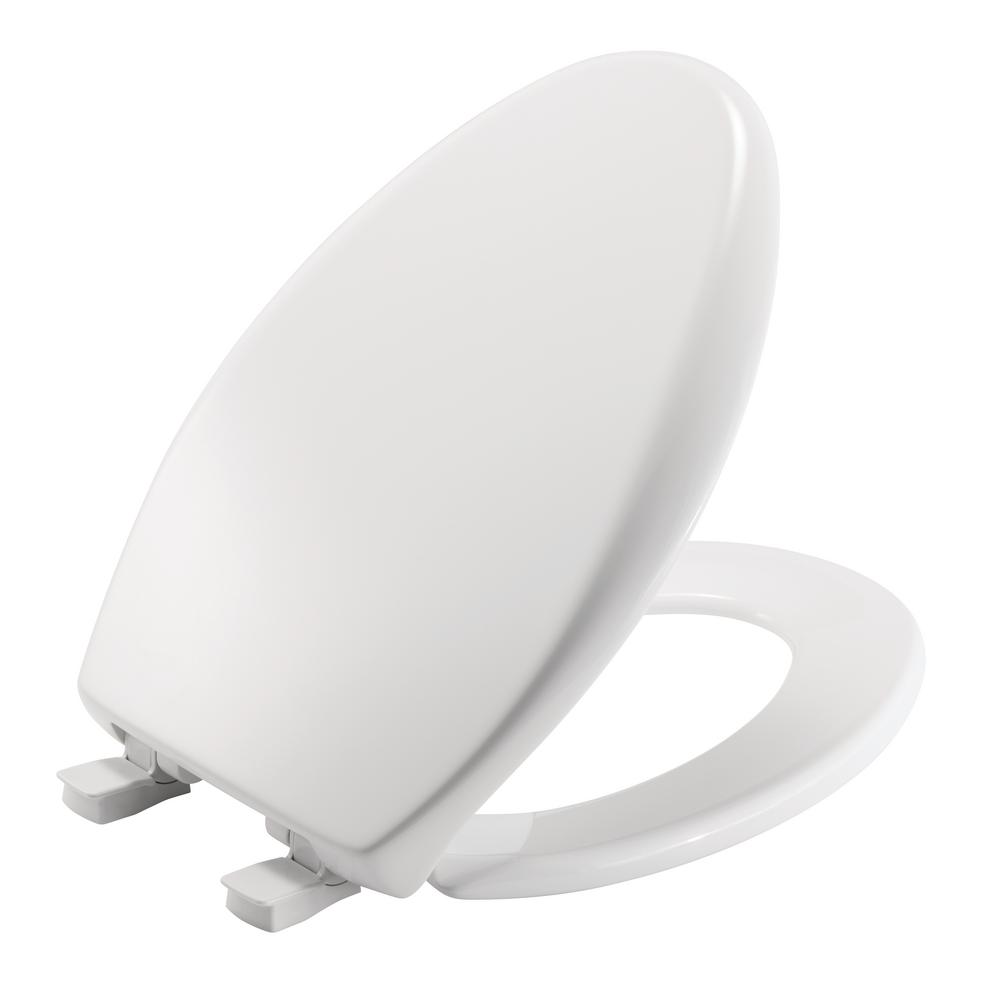 eljer emblem toilet seat. Affinity Elongated Closed Front Toilet Seat in White 124 0205 000  The