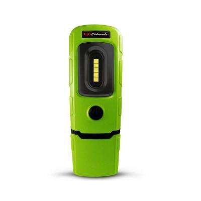 Rechargeable 360-Degree Swivel Compact Work Light and Torch, Green