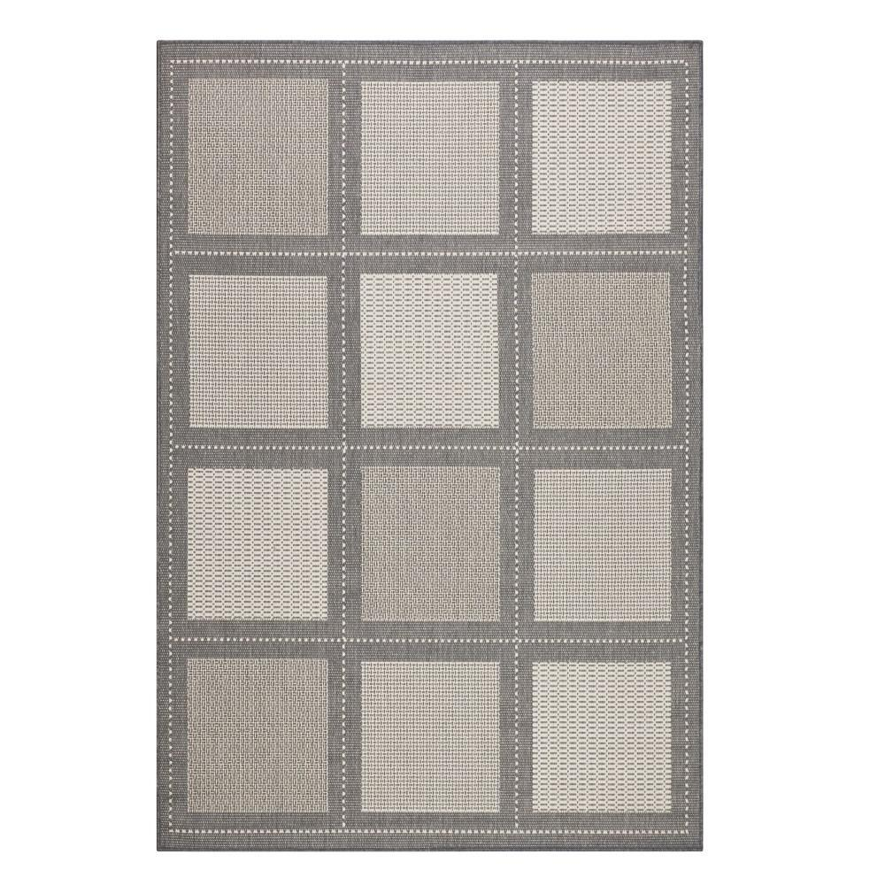 Home Decorators Collection Summit Grey/Champagne 4 Ft. X 5 Ft. Area Rug
