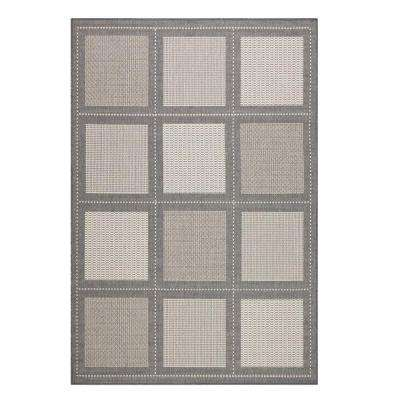 Summit Grey/Champagne 9 ft. x 13 ft. Area Rug