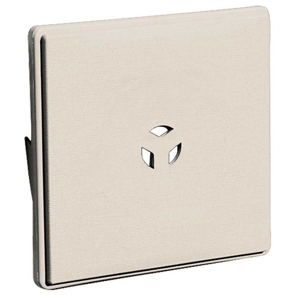 6.625 in. x 6.625 in. #048 Almond Dutch Lap Surface Block