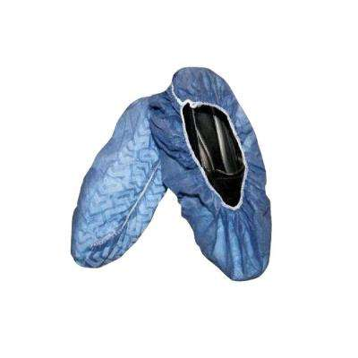Large Blue Non-Skid Shoe Covers (200-Pack)