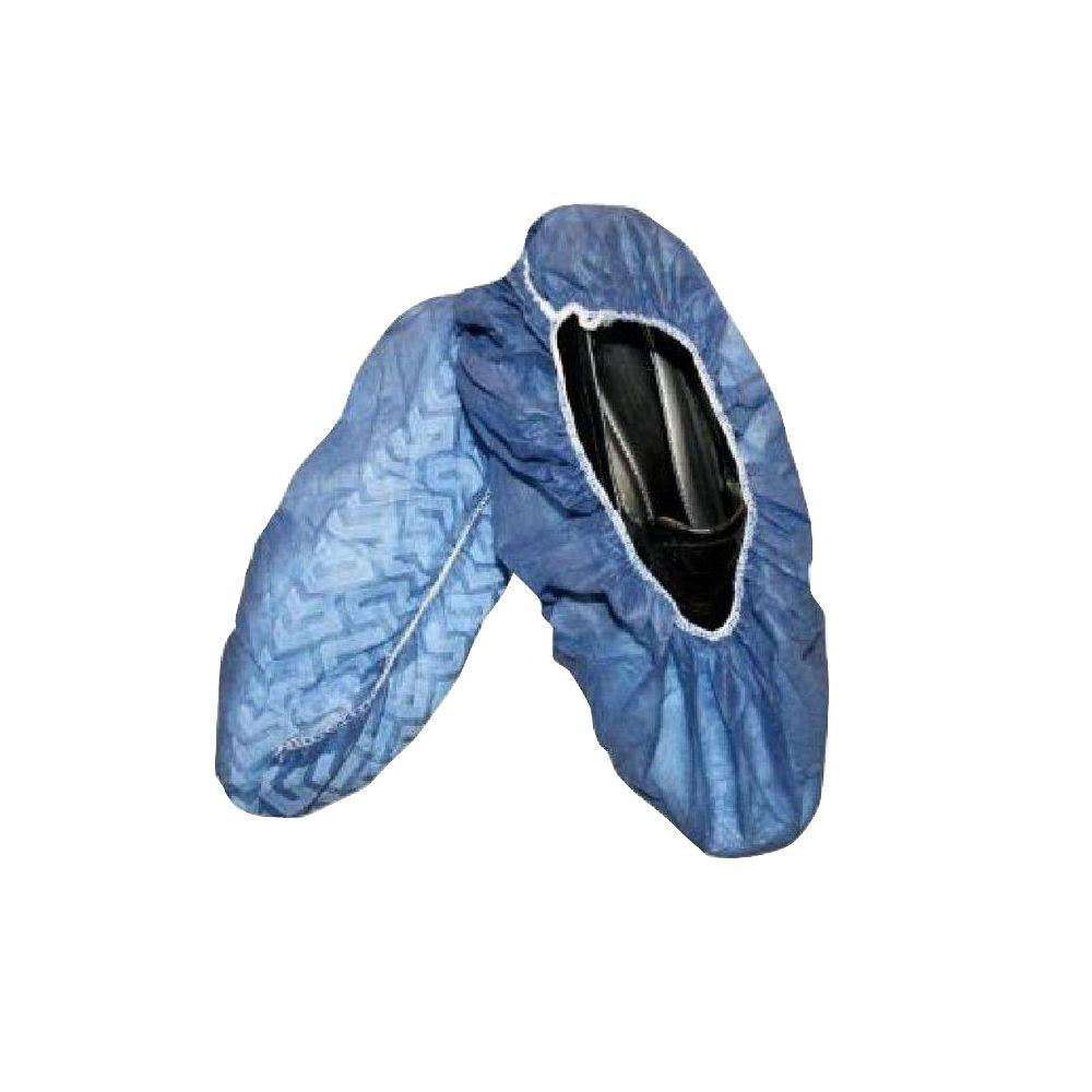 Cordova Large Blue Non-Skid Shoe Covers (200-Pack)