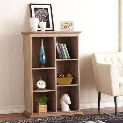 Barnett Burnt Oak Open Bookcase