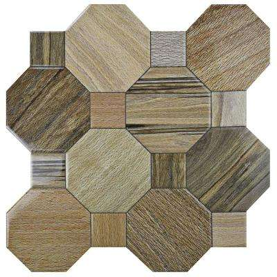 Kyoto Nogal 17-3/4 in. x 17-3/4 in. Ceramic Floor and Wall Tile (17.87 sq. ft. / case)