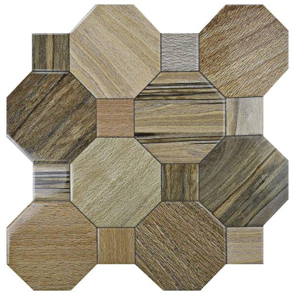 Kyoto Nogal 17-3/4 in. x 17-3/4 in. Ceramic Floor and Wall Tile (22.5 sq. ft. / case)