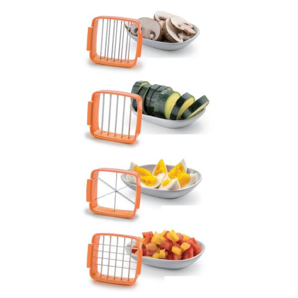 As Seen On Tv Nutri Chopper 5 In 1 Compact Portable Handheld Kitchen Slicer With Storage Container 2705mo Hd The Home Depot