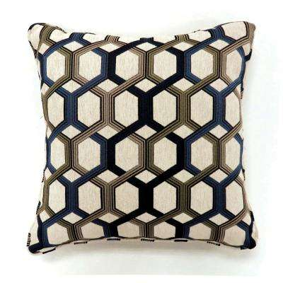 Comney 22 in. Contemporary Standard Throw Pillow in Multicolor