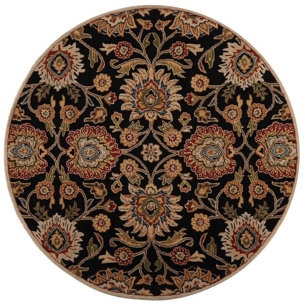 Home Decorators Collection Echelon Black 6 Ft X 6 Ft