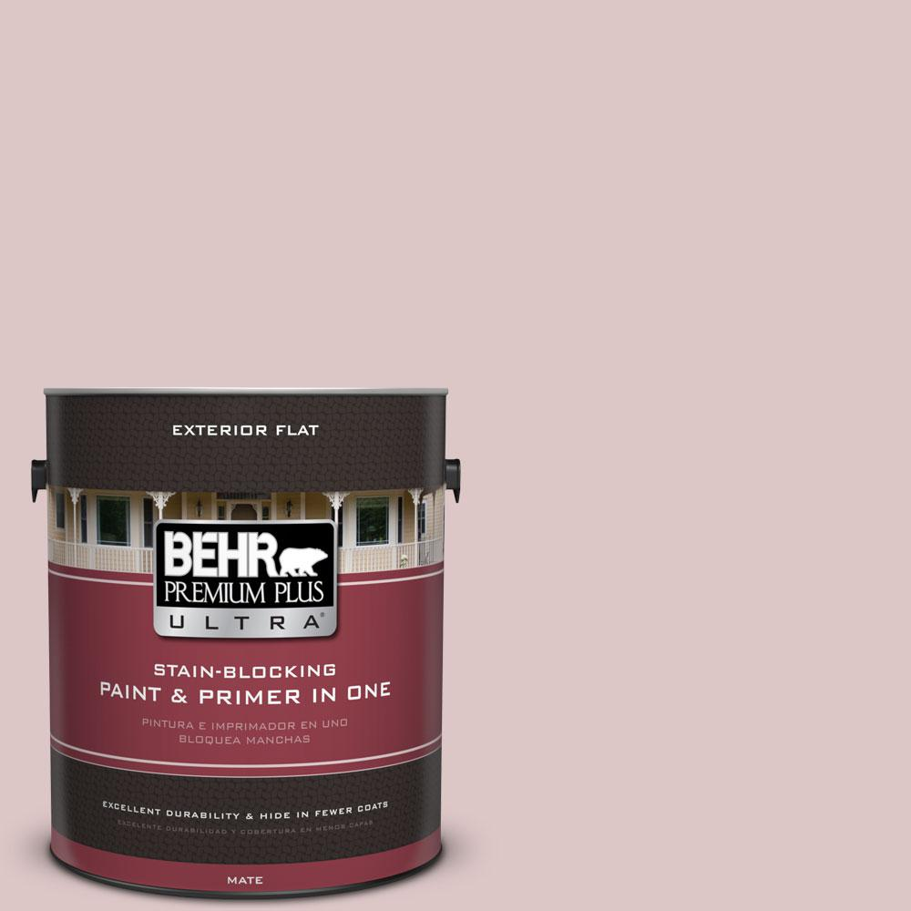 1-gal. #130E-2 Fairview Taupe Flat Exterior Paint