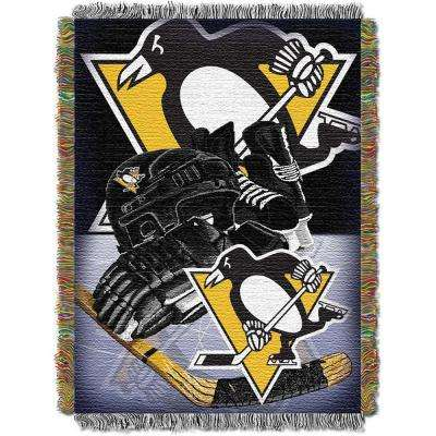 Penguins Multi Color HIA Tapestry Throw