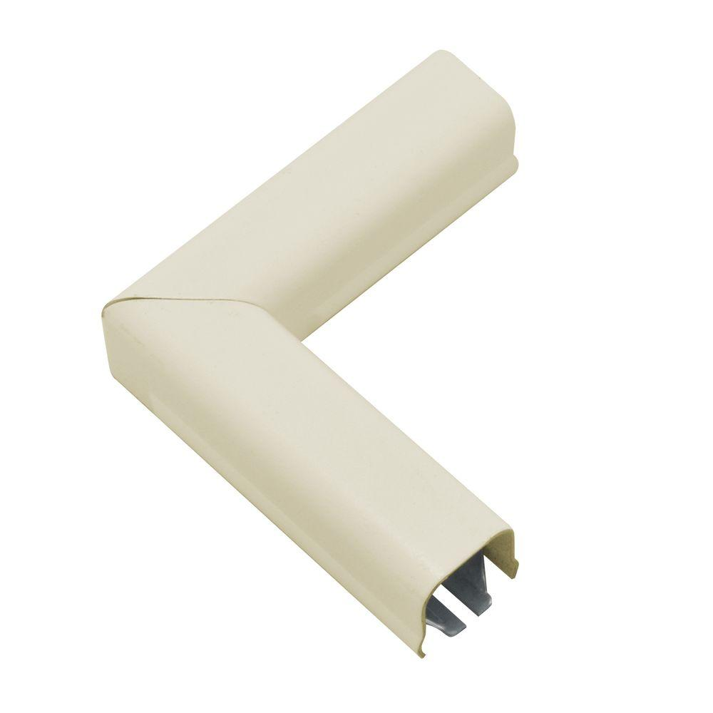 500 Series Metal Surface Raceway 90 Flat Elbow Ivory B 6 The Wiring Channel