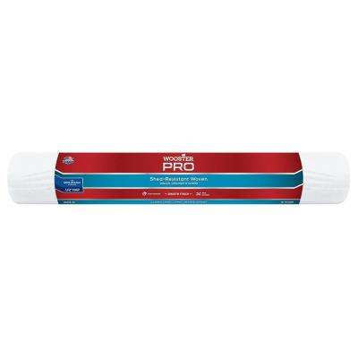 18 in. x 1/2 in. High-Density Pro Woven Fabric Roller Cover