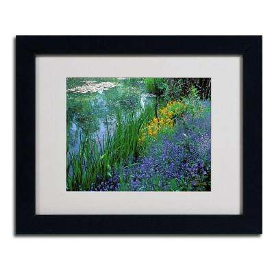 11 in. x 14 in. Monets Lily Pond Matted Framed Art