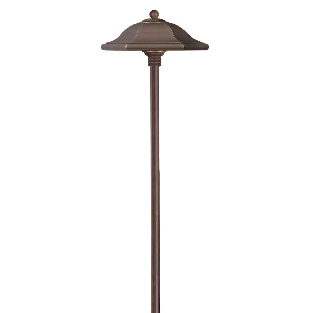 Low-Voltage 18-Watt Copper Bronze Monticello Path Light