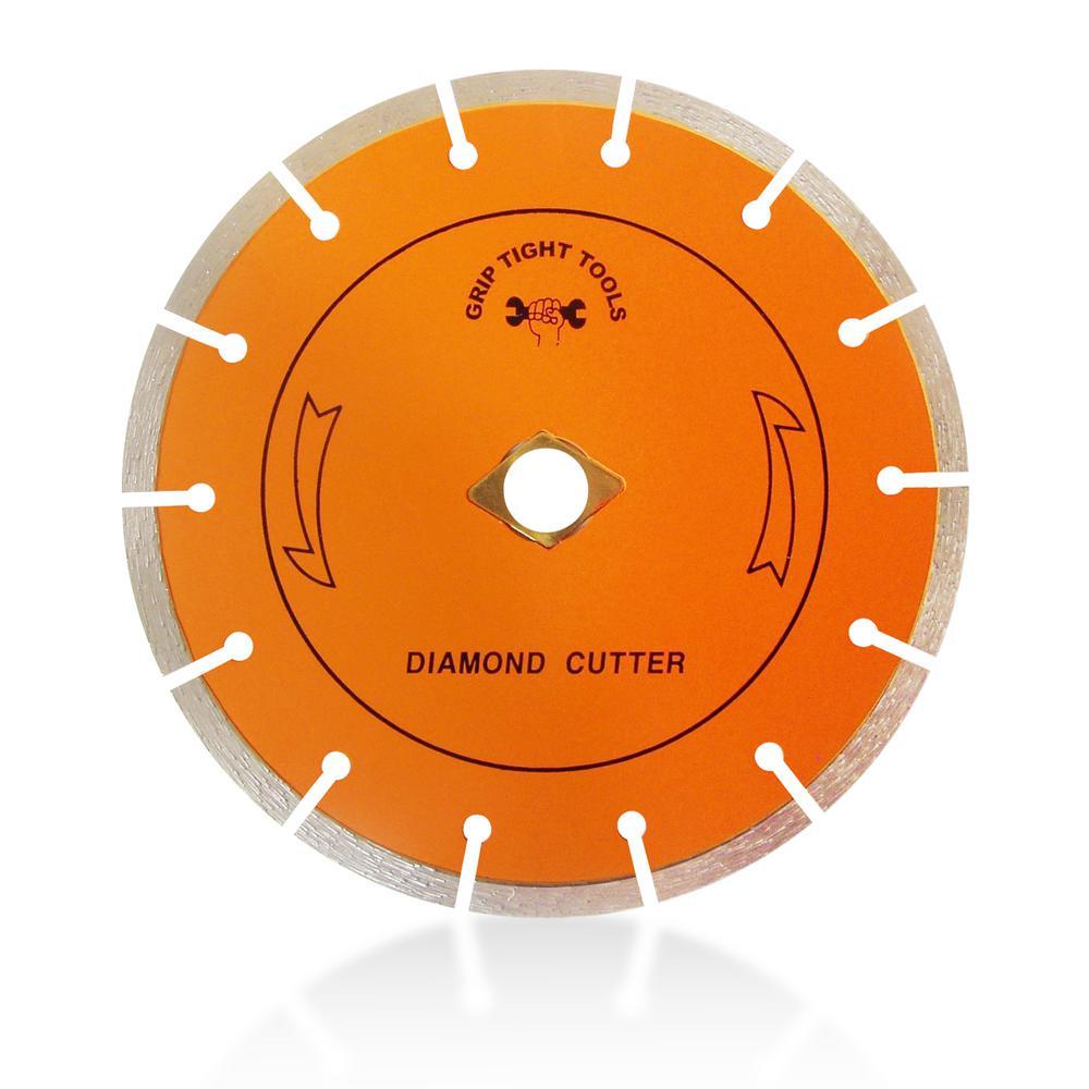 7 in. Classic Segment Cut Diamond Blade (10-Pack)