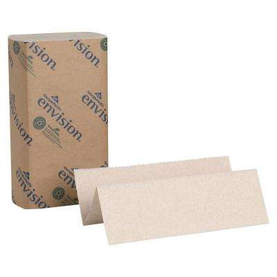 Envision Brown Multi-Fold Paper Towels (4000 per Carton)