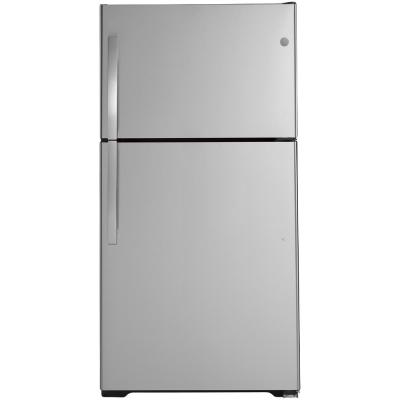 21.9 cu. ft. Top Freezer Refrigerator in Stainless Steel, ENERGY STAR