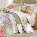 Blooming Prairie 3-Piece Queen Bedspread Set