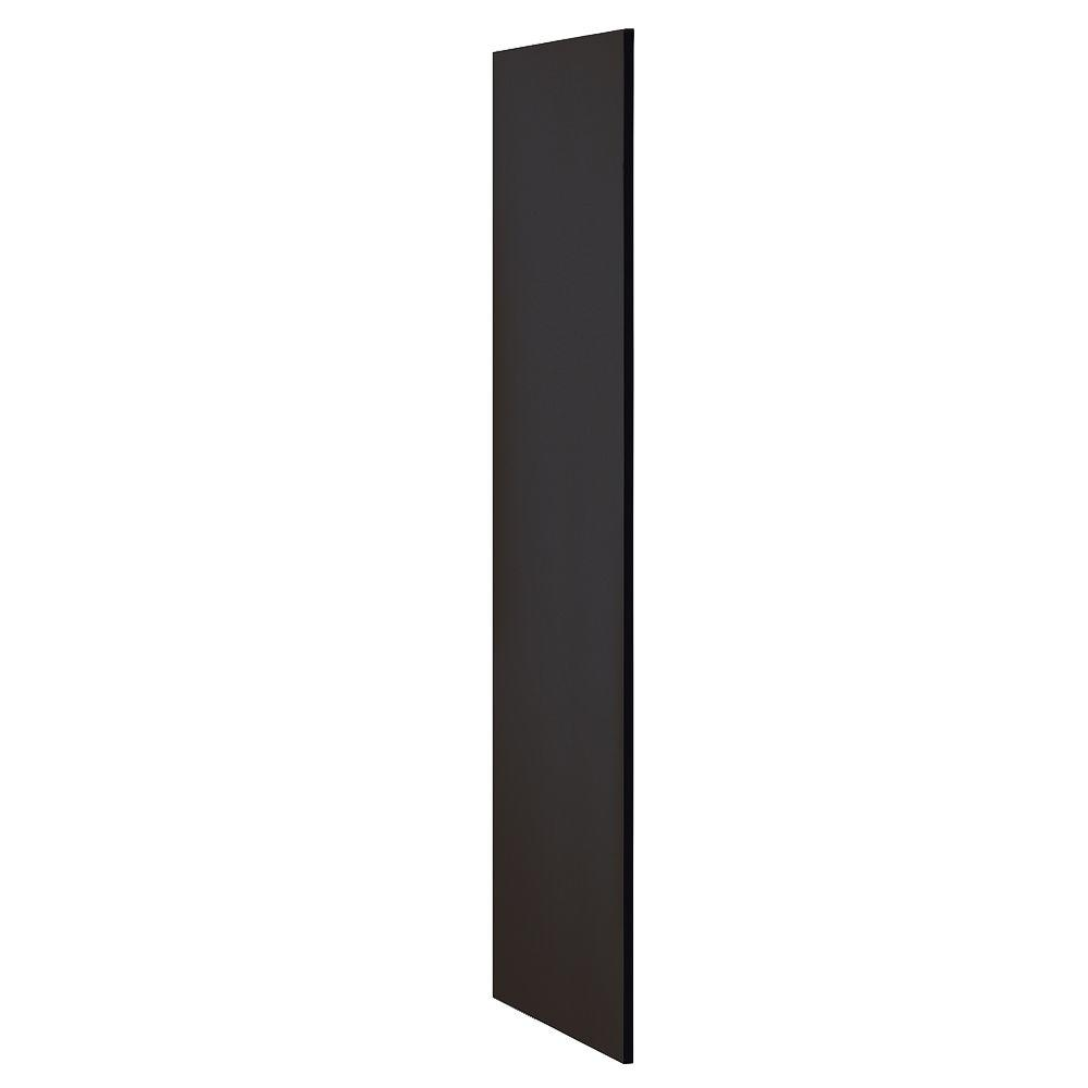Extra Wide Designer Wood Side Panel for 21 in. Deep Extra